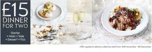 Waitrose Xmas Meal Deal or 2 with fizz (prosecco) £15