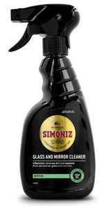 Simoniz Glass and Mirror Cleaner - 25p  (Instead of £4.80)  TESCO instore - Cleethorpes
