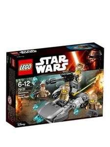 lego star wars resistance trooper battle pack £8.99 @ Very Free C&C