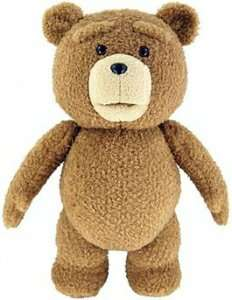 TED - 24 Inch Deluxe Talking Teddy Bear Plush £7.49 / £9.49 delivered @ Forbidden Planet