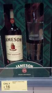 Jameson's Irish Whiskey 70cl Gift Pack (2 free glasses) £16.00 @ Dunnes Stores NI