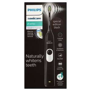 Philips Sonicare Hx6232/20 Black 2 Series Toothbrush £30 @ Tesco
