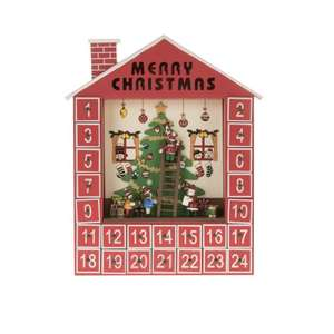 wooden advent calendars upto 50% off £5.99 / £8.94 delivered @ The range