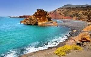Lanzarote cheap flights with easyjet e.g Southend - Lanzarote @ £27.83 on the 6th of Feb and return on from Lanzarote - Southend £12.83 on the 24th of Feb, total for £40.66