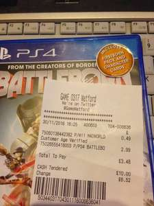 Battleborn PS4 Preowned for £2.99 Instore @ Game