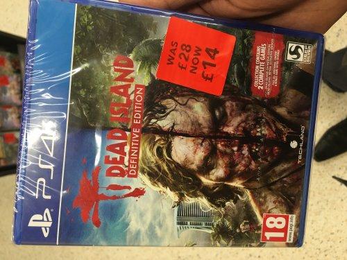 Dead Island: Definitive Edition (PS4) £14 @ Asda (Instore)