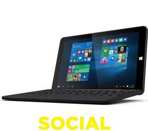 "LINX 1010B 10.1"" Tablet & Keyboard - 32 GB, Black @ Currys - £119.99"
