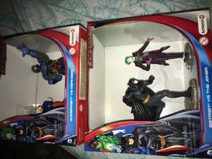 Schleich superheros 2 figure packs £4.99 home bargains batman and the joker
