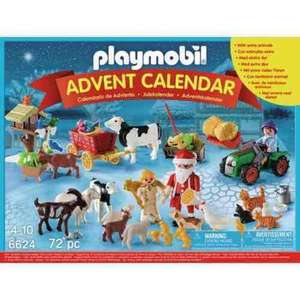 Playmobil Advent Calendars reduced at Argos eg £19.99 down to £9.99