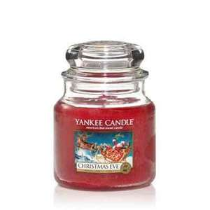 Yankee Candle Medium Christmas Eve from Debenhams for £7.59 (+£2 C&C or £3.49 P&P)