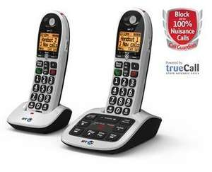 Refurb BT 6600 (or 4600 Big Button) Digital Cordless Telephone with Advanced Call Blocker Refurb £19.99 Single, £29.99 Twin, £39.99 Trio, Free Delivery - TELEPHONESONLINE
