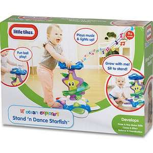 Toy Sale @ Argos eBay store - Eg : Little Tikes Little Ocean Explorer's Stand n Dance £14.99 - Free C&C + Use accumulated Nectar points to pay from the 10x event