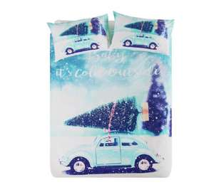 Christmas duvet sets & bed in bag sets reduced at Argos - single was £9.99 now £7.99, double was £14.99 now £11.99, kingsize was £19.99 now £15.99 more in post @ Argos