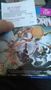 Battleborn (with Firstborn Pack & Character Cards) @ GAME instore £3.99 [New]