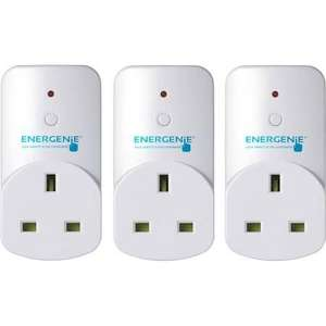 Energenie MIHO002 Adapters works with Alexa(Pack of 3) £20.66 @ Amazon free delivery (Temporarily out of stock)