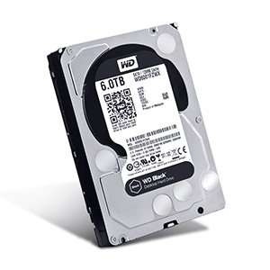 "CCL - WD Black 6TB SATA III 3.5"" Hard Drive, Saving £244.27 5 Year Warranty + 1.1% Cashback on Quidco"