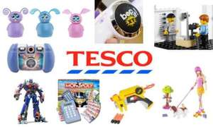 3 for 2 on ALL TOYS @ Tesco starts tomorrow (2nd December)