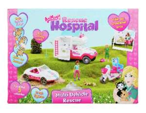 Animagic Rescue Hospital multi vehicle set was £50 now £19.99 @ Argos