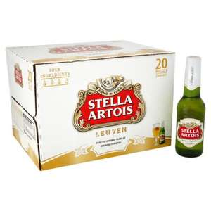 2 x (20x284ml) Stella Artois - Just £19 @ Ocado! (Potential for 37.5p per bottle!)