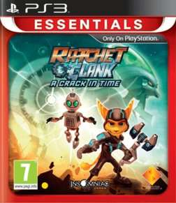 Ratchet & Clank: A Crack In Time PS3 Game £4.99 @ Game