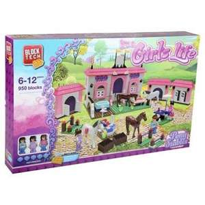 Block Tech Pony Stables - £12.50 @ Tesco (free C&C)
