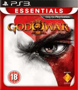 God of War III (PS3 Essentials) £4.99 @  Game