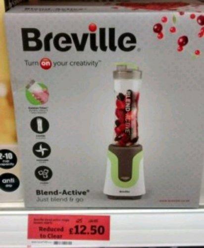 Breville  VBL075 Blend Active Blender - Sainsburys Instore £12.50