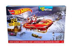 Hot wheels advent calendar £10 each & 3 for 2 at tesco! £20.00 for 3 calendars! (£6.66 each)
