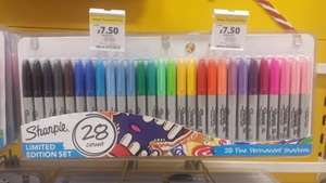 Sharpies limited edition set 28 pack £7.50 at Tesco Direct