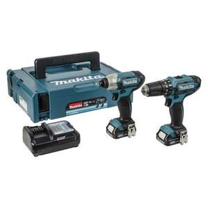 MAKITA 18V COMBI DRILL AND IMPACT DRIVER TWIN PACK@Selco - £137.99