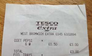 I Think Christmas is Coming to West Brom! 2 Litre Diet Pepsi 50p instore @ Tesco Ho Ho!