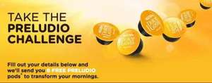 Free Dolce Gusto pods