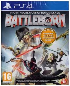 Battleborn (PS4) Only £3.99 Prime / £5.98 non prime Sold By Amazon