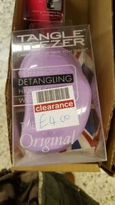 Tangle Teezer. £4 instore @ Boots