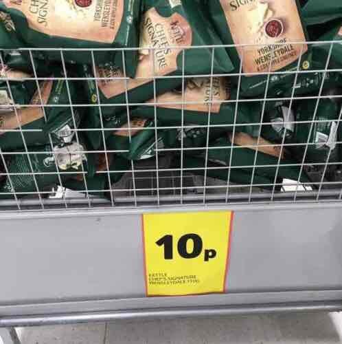 kettle crisps 10p instore @ Tesco Cardiff