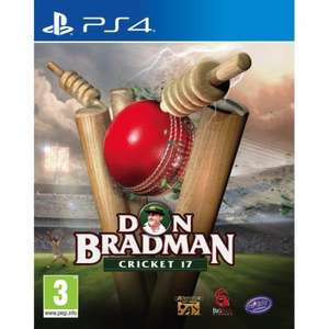 Don Bradman Cricket 17 PS4 / XB1 £42.99 delivered @ 365games.co.uk