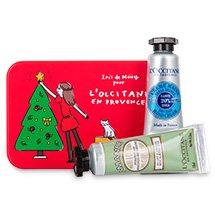 L'Occitane - Festive Handy Treat £5 using codes (Free mini cracker / Free delivery)