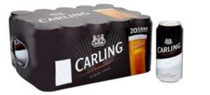 Carling Lager 20x440 cans £10 @asda