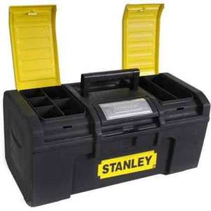 """Stanley 19"""" one touch tool box £8.00 @ Homebase"""