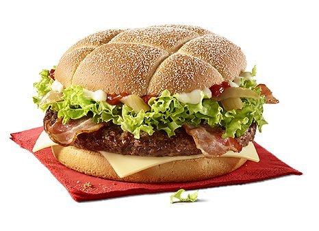 McDonald's UK Festive Cheese Feast £4.46