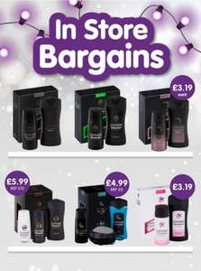 Lynx Gift Set, Body Spray and Shower Gel Duo £3.19 @ homebargains in-store