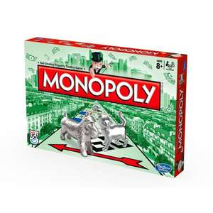 Monopoly Board Game by Hasbro £11.98 (Prime Exclusive) @ Amazon
