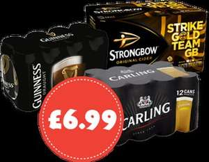 12 x 440ml Carling £6.99 @ Nisa (Includes FREE Sky Sports Pass)