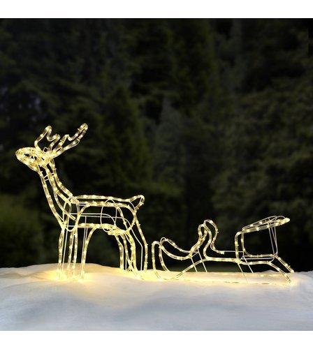reindeer sleigh outdoor christmas light £21.99 delivered at Studio