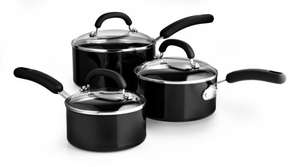 Circulon Non-Stick 3 Piece Saucepan Set £22.50 @ Tesco *** Instore ***