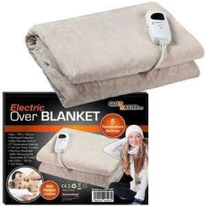 Glowmaster Heated Throw £12.50 delivered at WeeklyDeals4Less, £34.95 at Amazon. Everything on site half price with code.