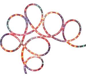 8m Rope Christmas Lights - Multicoloured £9.99 @ Argos