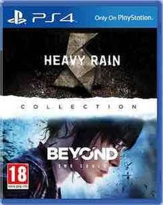 Heavy Rain & Beyond Two Souls Collection (PS4) £17.99 preowned @ GAME