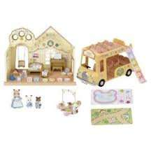 sylvanian families nursery with double decker bus £24.99 (and 3 for 2) Tesco