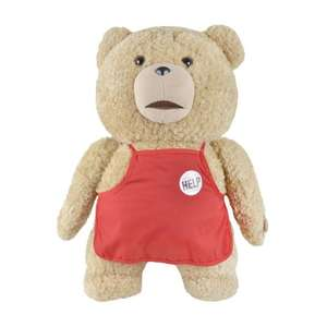 Talking TED (Ted, from the film Ted. R-rated). £19.99 + £2.95 Del (free if over £30) from xs-stock.